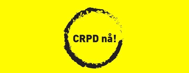Funksjonshemmedekonvensjonen (CRPD) inn i norsk lov nå!